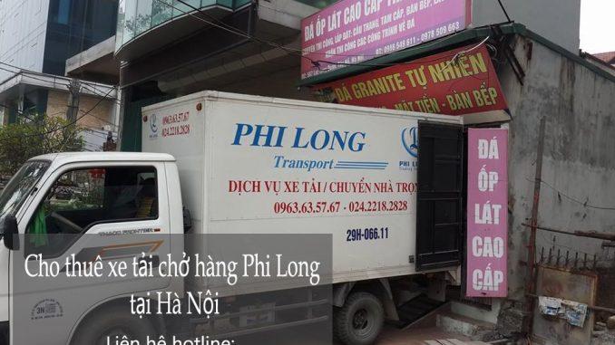 Dịch vụ cho thuê xe tải tại phố Nguyễn Thượng Hiền
