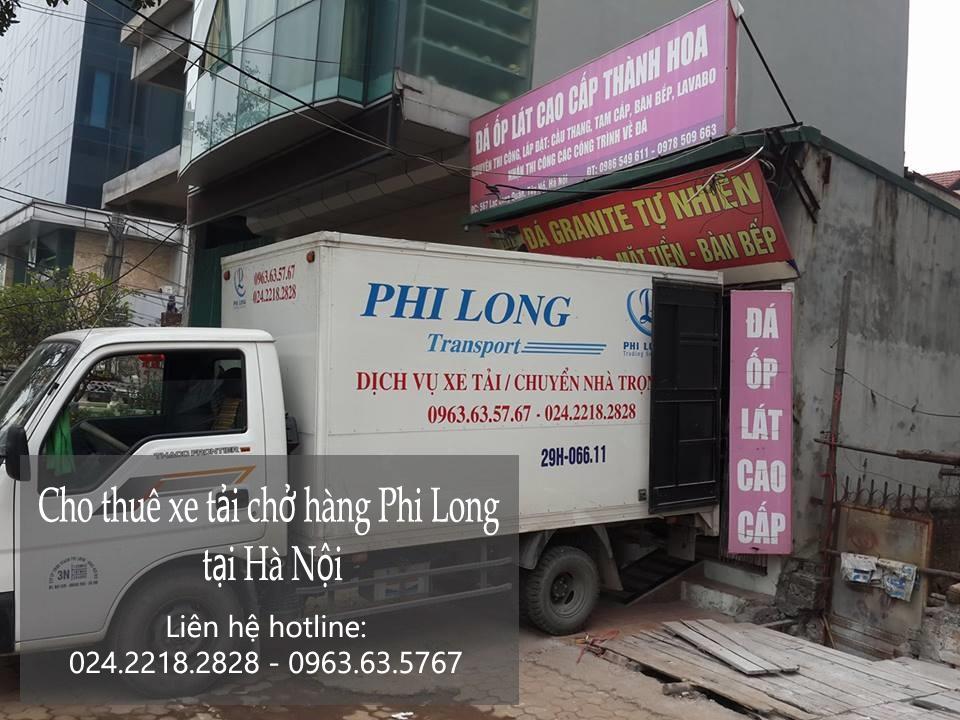 Dịch vụ cho thuê xe tải uy tín tại phố Thanh Bình