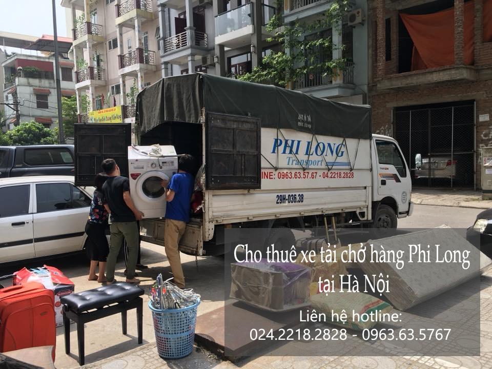 Cho thuê xe tải vận chuyển tại phố Hàng Thiếc
