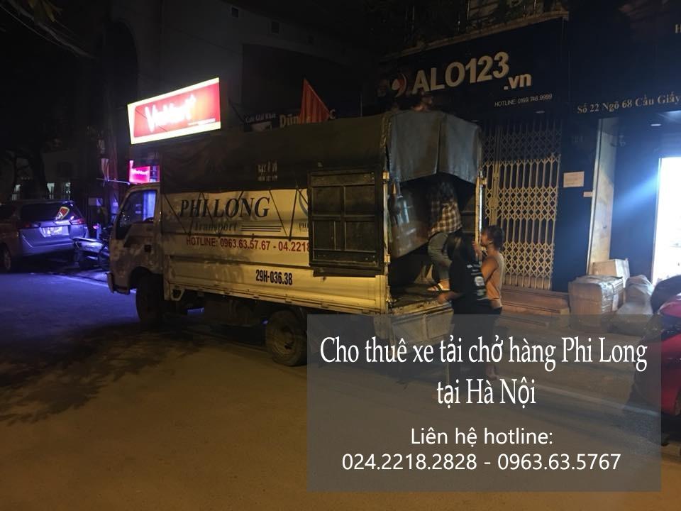 Xe tải chở hàng cho thuê tại phố Kim Đồng