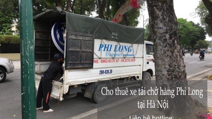 Thuê xe vận chuyển tại khu đô thị Ciputra