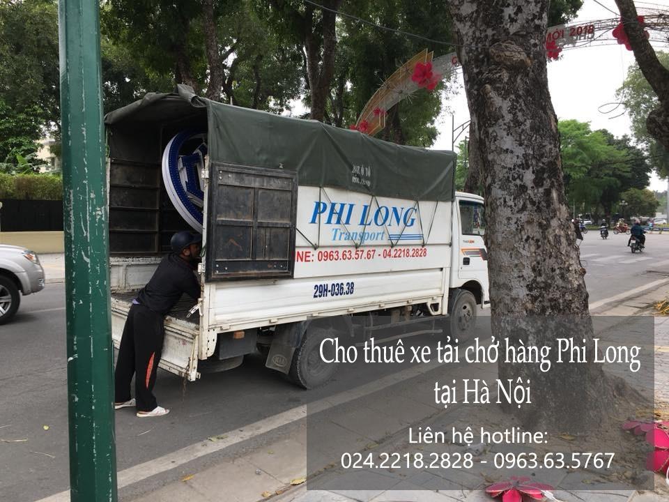 Dịch vụ thuê xe tải tại Phi Long tại phố Hoàng Diệu