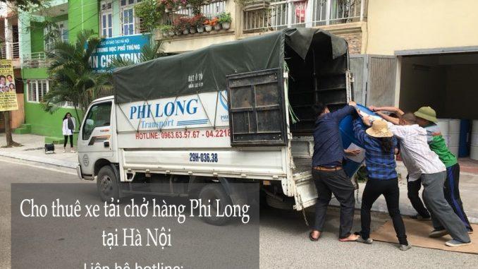 Cho thuê xe tải chở hàng tại đường Giáp Bát