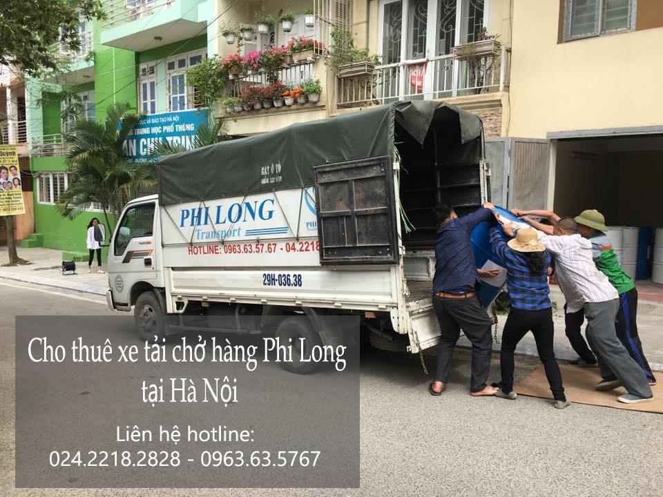 Dịch vụ thuê xe tải Phi Long tại phố Hạ Đình