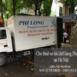 Thuê xe tải giá rẻ Phi Long tại khu đô thị Pháp Vân