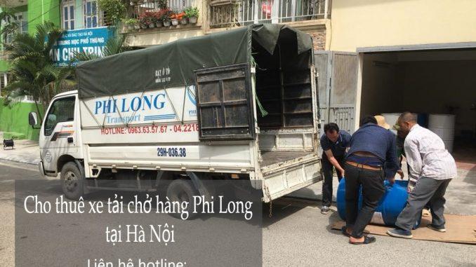 Cho thuê xe tải giá rẻ tại phố Lê Lai