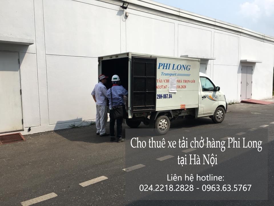 Dịch vụ thuê xe tải Phi Long tại phố Giáp Nhất