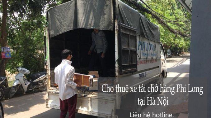 Dịch vụ thuê xe tải chở hàng tại phố Phú Lương