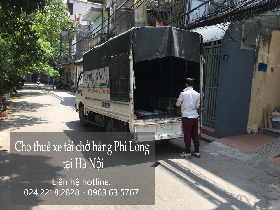 Dịch vụ thuê xe tải Phi Long tại phố Quan Nhân