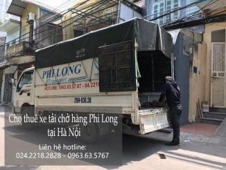 Dịch vụ thuê xe tải tại phố Trung Yên