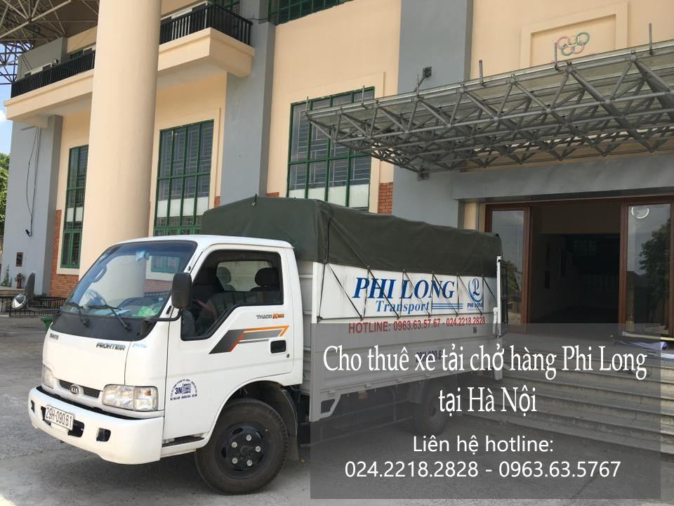 Cho thuê xe tải tại phố Hàng Mành