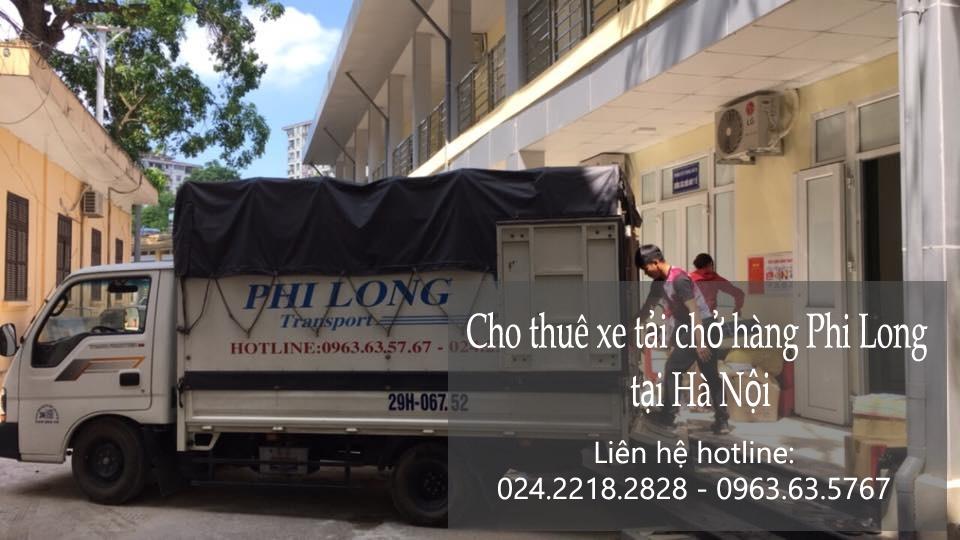 Thuê xe chuyển nhà giá rẻ tại phố Ngô Thì Nhậm