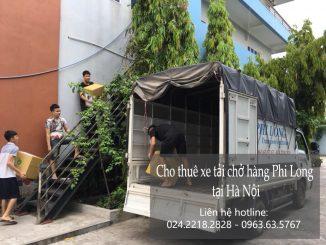 Dịch vụ thuê xe tải vận chuyển tại phố Tô Tiến Thành