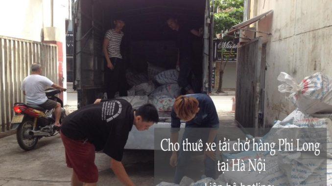 Cho thuê xe tải tại phố Đốc Ngữ