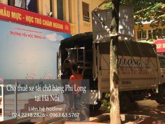 Dịch vụ thuê xe tải giá rẻ tại phố Quảng An