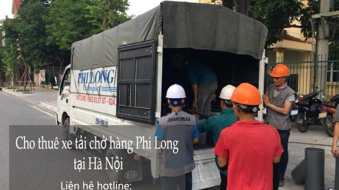 Cho thuê xe tải tại phố Đồng Xuân