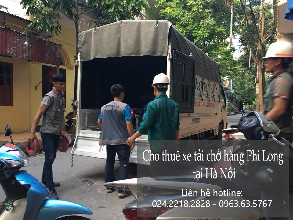 Dịch vụ thuê xe tải giá rẻ tại phố Nguyễn Lương Bằng