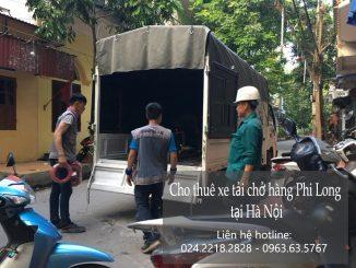 Dịch vụ cho thuê xe tải vận chuyển tại phố Nguyễn Cơ Thạch