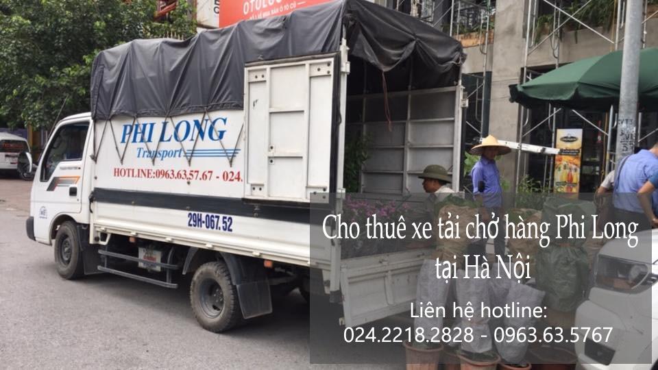 Dịch vụ thuê xe tải tại phố Phúc Xá