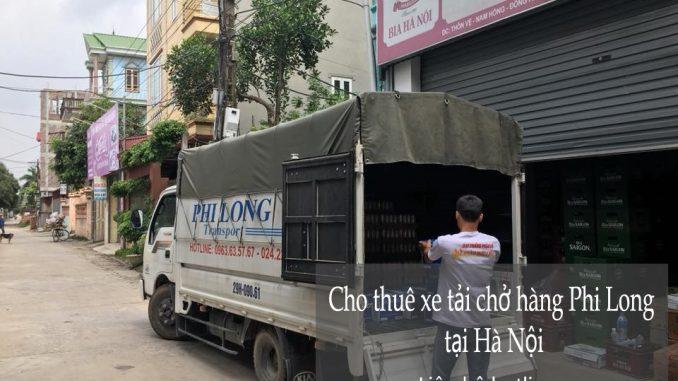 Dịch vụ thuê xe tải tại phố Hương Viên