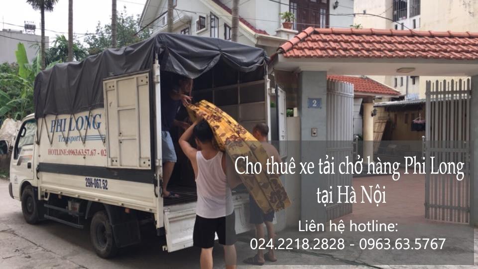 Dịch vụ cho thuê xe tải tại phố Lý Văn Phức