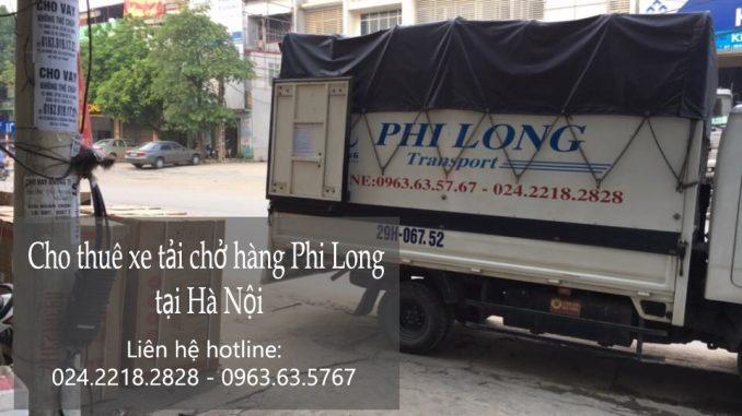 Dịch vụ taxi tải giá rẻ tại phố Triều Vũ