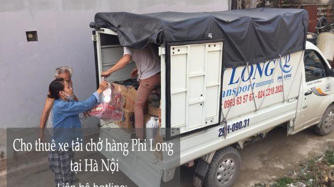 Dịch vụ thuê xe tải giá rẻ tại phố Quỳnh Mai 2019