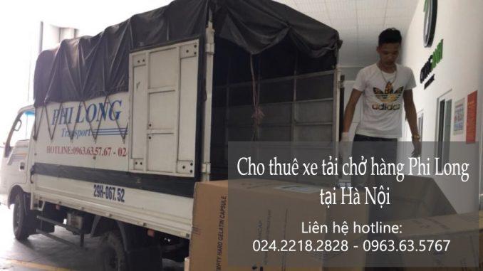 Dịch vụ xe tải vận chuyển tại phố Bạch Thái Bưởi
