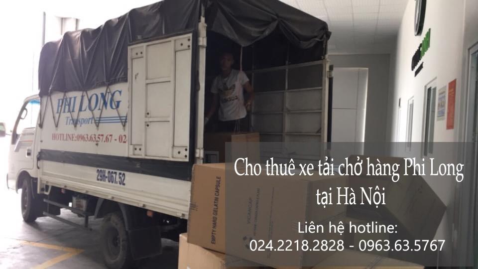 Dịch vụ cho thuê xe tải chuyển đồ tại phố Phú Lương