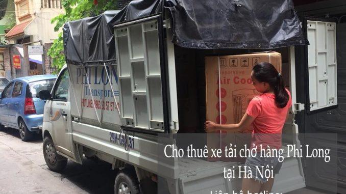 Dịch vụ cho thuê xe tải vận chuyển tại phố Lạc Chính