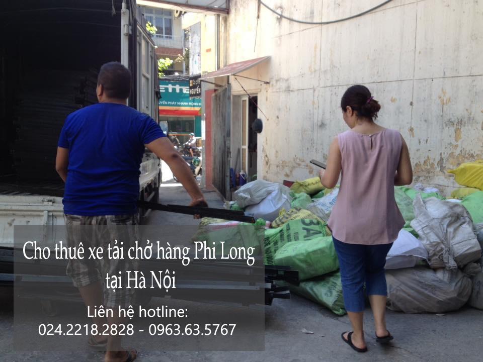 Dịch vụ thuê xe tải vận chuyển tại phố Khâm Thiên