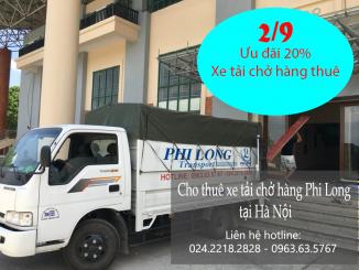 Dịch vụ cho thuê xe tải ưu đãi ngày Quốc Khánh 2-9