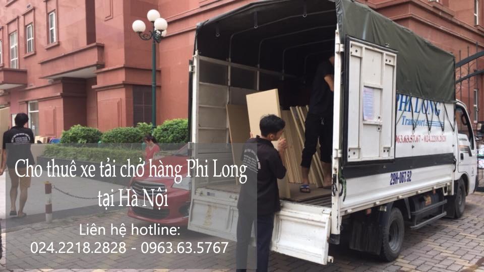 Dịch vụ cho thuê xe tải tại phố Tô Ngọc Vân