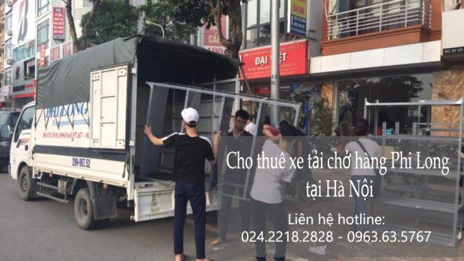 Dịch vụ cho thuê xe tải uy tín tại đường Quang Tiến
