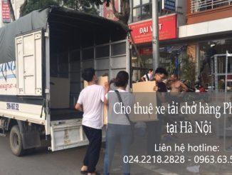 Dịch vụ cho thuê xe tải vận chuyển tại phố Yên Bình