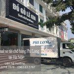 Cho thuê xe tải chở hàng tại phường Đồng Mai