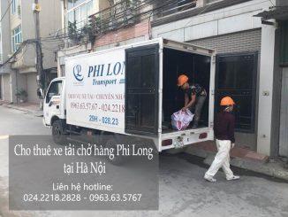 Dịch vụ thuê xe tải tại phố Hạ Yên