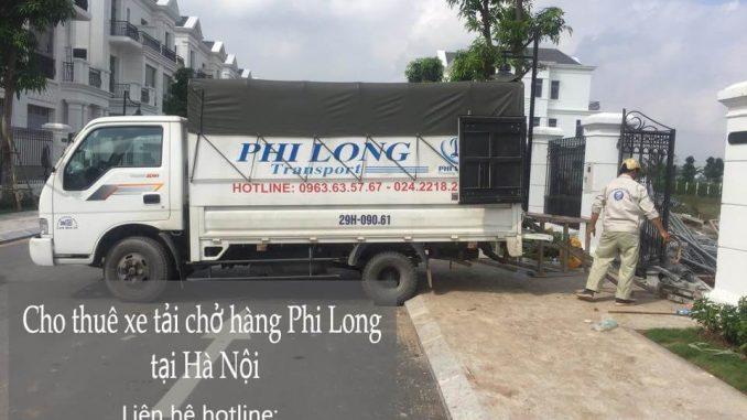 Cho thuê xe tải giá rẻ tại phố Thịnh Yên