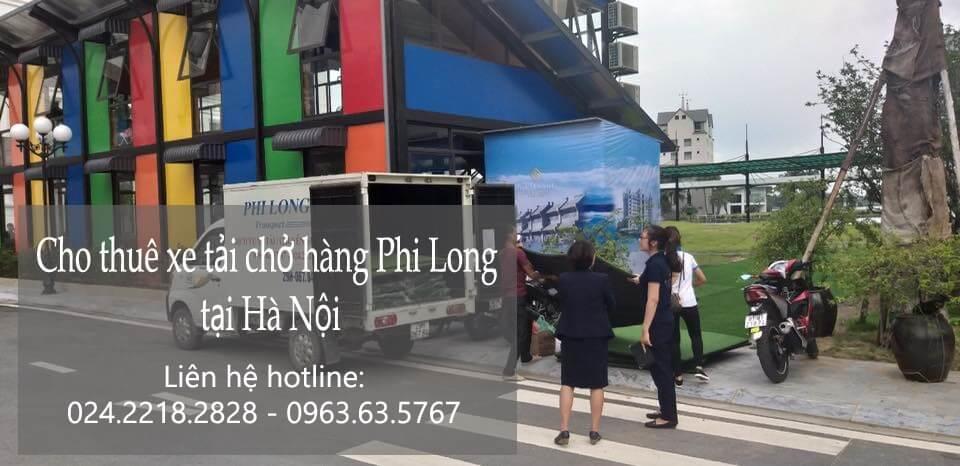 Cho thuê xe tải uy tín tại đường Nguyễn Huy Thuận