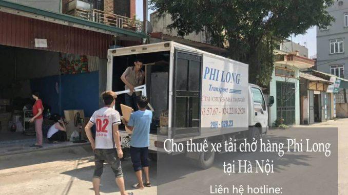 Dịch vụ cho thuê xe tải tại phố Cửa Nam