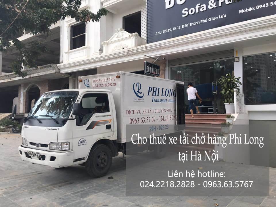 Dịch vụ thuê xe tải giá rẻ tại đường Liễu Giai