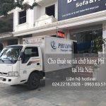 Dịch vụ thuê xe tải tại phố Đinh Công Tráng