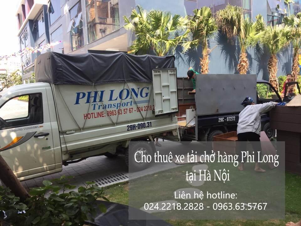 Dịch vụ cho thuê xe tải tại phố Cổng Đục