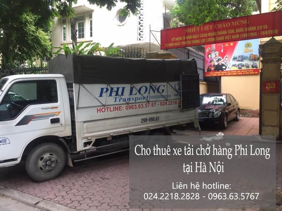 Dịch vụ cho thuê xe tải giá rẻ tại phố Đông Thái