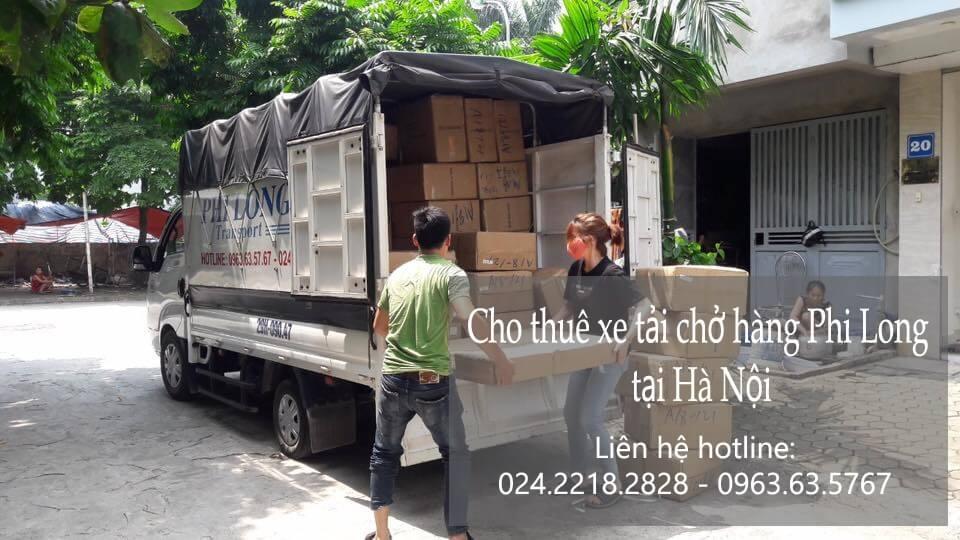 Dịch vụ thuê xe tải tại phố Cầu Mây