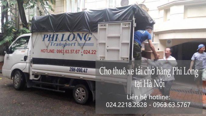 Phi Long cho thuê xe tải tại phường Định Công