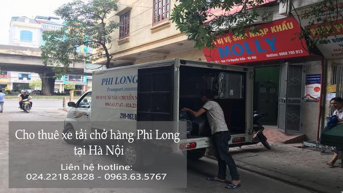 Cho thuê xe tải tại phố Đường Thành