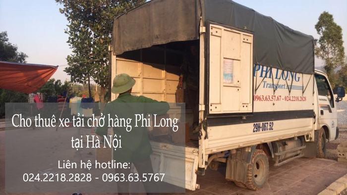 Dịch vụ cho thuê xe tải tại phố Hàng Chiếu