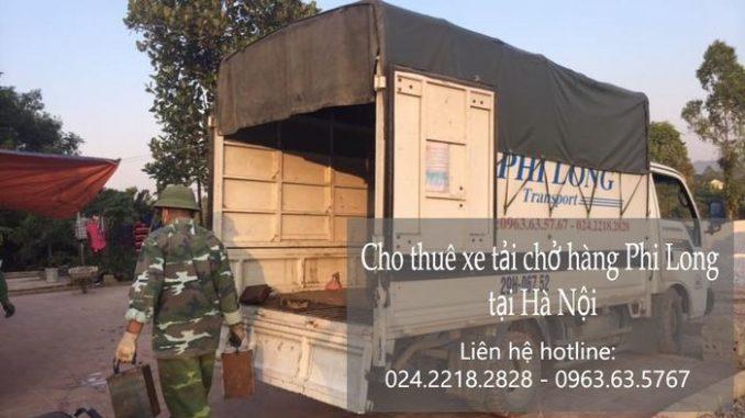 Thuê xe tải tại phố Đội Nhân
