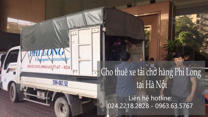 Dịch vụ thuê xe tải tại phố Chả Cá